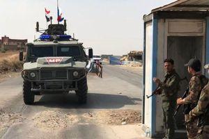 Đạt thỏa thuận với Thổ Nhĩ Kỳ, Lực lượng Nga bắt đầu tuần tra tại Đông Bắc Syria