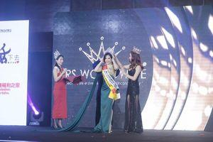Lê Vũ Hoàng Hạt vào top 10, giành 2 hai giải phụ tại Mrs. Worldwide 2019