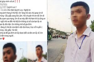 Thực hư thông tin nam sinh Nghệ An đi xe máy 200km ra Hà Nội để... tìm 'bạn gái'