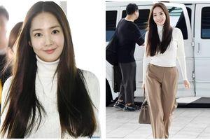 Xuất hiện thoáng qua ở sân bay, Park Min Young đốn tim fan với nụ cười tỏa nắng