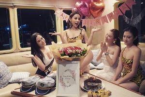 Sinh nhật siêu to của Huyền Baby: Mở party khoe body cực căng trên du thuyền cùng hội chị em