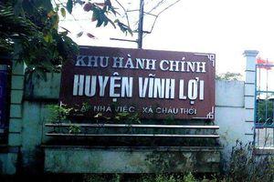 Kỷ luật khiển trách Phó trưởng Phòng Kinh tế - Hạ tầng huyện Vĩnh Lợi, Bạc Liêu