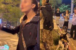Dắt chó đi dạo công viên, cô gái Tây bị bợm nhậu dùng mũ bảo hiểu 'giã' vào đầu vì không cho nựng chó