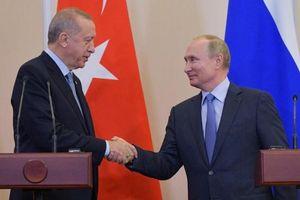Tổng thống Thổ Nhĩ Kỳ ca ngợi thỏa thuận với Nga về Syria là 'chiến thắng lịch sử'