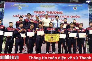 Thanh Hóa xếp thứ ba toàn đoàn tại Giải vô địch Vovinam toàn quốc 2019