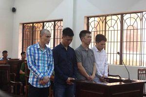 4 kẻ cướp ô tô lãnh 36 năm tù