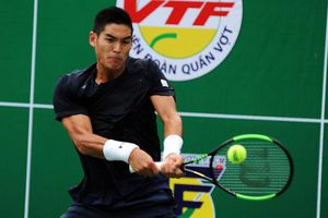 Tay vợt Việt kiều Mỹ Thái Sơn Kwiatkiowski vào bán kết Giải quần vợt Vô địch Quốc gia