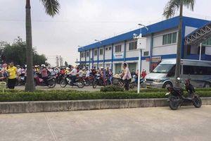 Công bố nguyên nhân hàng loạt công nhân bị ngộ độc khí ở Nam Định