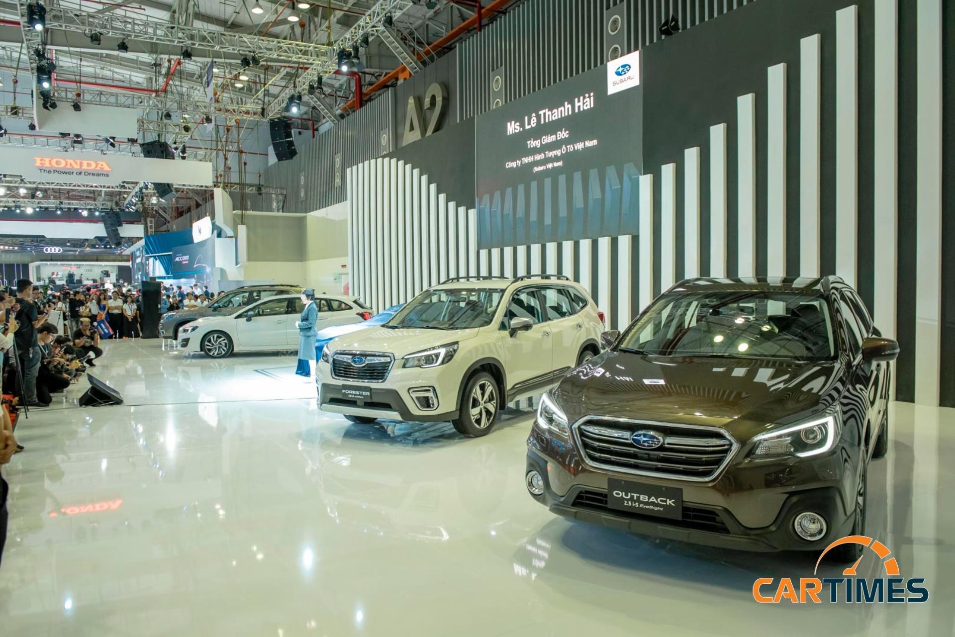 Subaru mang 'chất' thể thao tới triển lãm ô tô Việt Nam 2019