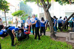 TP.HCM: Náo nức ra quân 'Giữ môi trường xanh vì hành tinh chúng ta'