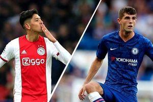 Đội hình dự kiến trận Ajax - Chelsea: Bảng H Champions League 2019/20