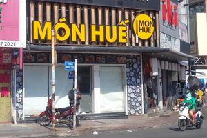 Hàng loạt nhà hàng Món Huế tại TPHCM đóng cửa