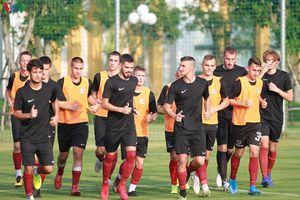 U19 FK Sarajevo sang PVF tập huấn, chuẩn bị giao hữu với U19 Việt Nam