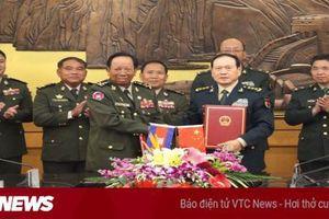 Trung Quốc viện trợ 84 triệu USD cho quân đội Campuchia