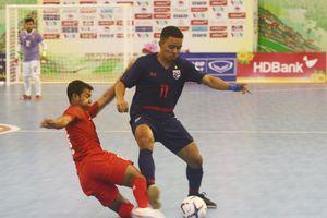 Tuyển Futsal Thái Lan toàn thắng vòng bảng AFF HDBank Futsal Championship 2019