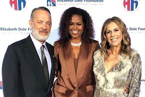 Michelle Obama là người nổi tiếng mới nhất diện đồ của NTK Công Trí