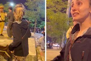 Sự thật cô gái Tây bị hành hung ở Lê Duẩn vì 'không cho sờ chó'