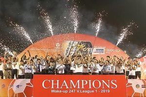 CLB Hà Nội chính thức trở thành nhà vô địch của V-League 2019