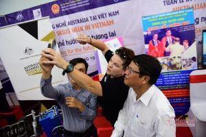 Hào hứng trình diễn tại tuần lễ kỹ năng nghề Australia - Việt Nam