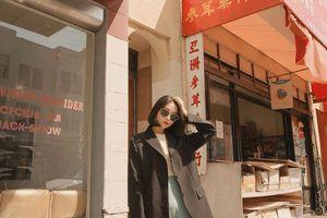 Trời se lạnh, học ngay cách phối đồ của hotgirl Hàn Quốc vừa dịu dàng lại cá tính