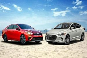 Hyundai Elantra vs Kia Cerato 2019 đẹp mê ly giá rẻ, nên chọn xe nào?