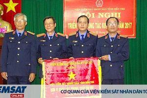 Đảng bộ VKSND tỉnh Bến Tre nhiều năm đạt thành tích xuất sắc trong công tác xây dựng Đảng