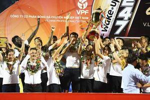 Câu lạc bộ bóng đá Hà Nội được vinh danh sau mùa giải thành công