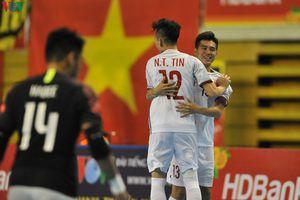 Futsal HDBank vô địch Đông Nam Á 2019: Việt Nam gặp Thái Lan ở bán kết