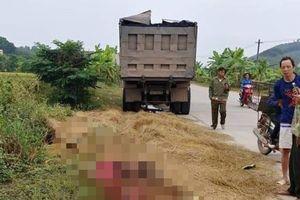 Xe tải va chạm với xe máy, nam công nhân tử vong, thi thể không còn nguyên vẹn