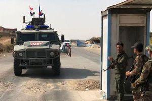 Quân đội Nga bắt đầu tuần tra ở miền Bắc Syria