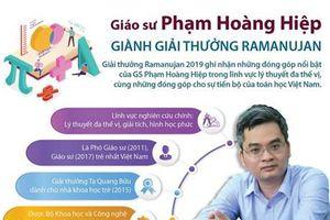 GS Phạm Hoàng Hiệp giành giải quốc tế cho nhà toán học trẻ