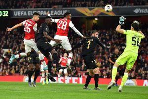Europa League: Arsenal, Man Utd thắng nghẹt thở
