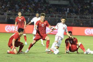 Các đội tuyển bóng đá quốc gia hội quân
