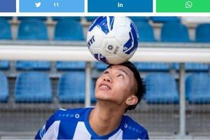 Báo Hà Lan quan tâm đặc biệt tới quá trình thi đấu của Văn Hậu ở tuyển Việt Nam