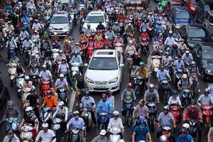 Hà Nội sẽ cấm xe máy, thu phí ô tô nội đô năm 2030