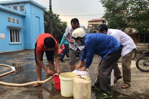 Công ty Nước sạch sông Đà xin lỗi khách hàng, miễn phí cấp nước một tháng