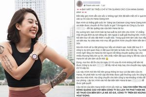 Khách hàng phản ánh bị lừa hơn 50 triệu đồng do tin vào quảng cáo của HLV Hana Giang Anh