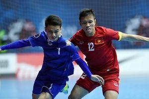 Tuyển Việt Nam thua trắng Thái Lan ở giải Futsal Đông Nam Á