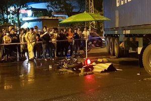 Bị xe đầu kéo cán qua người, nam công nhân tử vong tại chỗ