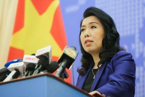 Bộ Ngoại giao lên tiếng về thông tin tàu Hải Dương 8 rút khỏi EEZ Việt Nam