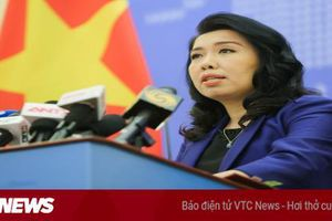 Bộ Ngoại giao xác nhận tàu Hải Dương 8 của Trung Quốc rút khỏi vùng biển Việt Nam