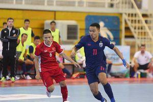 Futsal Việt Nam vẫn còn dưới cơ Thái Lan