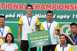 Quần vợt TP.HCM thắng áp đảo ở giải vô địch quốc gia