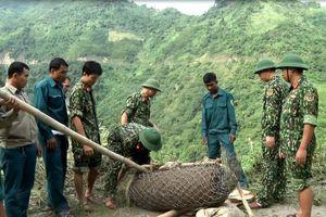 Nghệ An: Hủy nổ an toàn quả bom 'khủng'