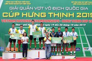 Chủ nhà TP.HCM thắng tuyệt đối tại Giải quần vợt VĐQG 2019