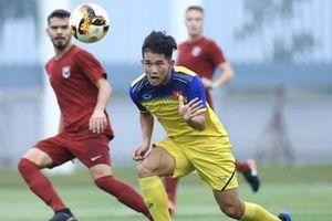 U.19 Việt Nam đánh bại đội bóng đến từ châu Âu U.19 Sarajevo