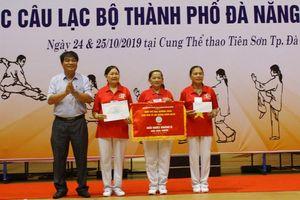 Kết thúc giải thể dục dưỡng sinh các CLB TP Đà Nẵng năm 2019