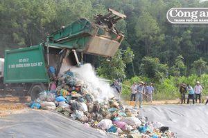 Bãi rác Tam Xuân 2 chính thức hoạt động lại