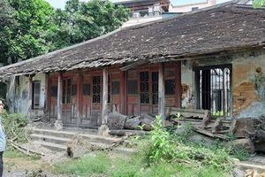 Đề nghị công nhận Châu Hương Viên của cụ Ưng Bình là di tích lịch sử