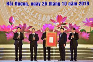 Hàng vạn người dự lễ công bố quyết định TP Hải Dương đạt tiêu chí đô thị loại I